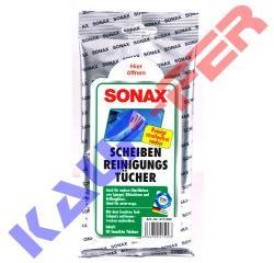 SONAX Üvegtisztító Kendő (25db)