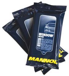 MANNOL Window wipes - Üvegápoló és páramentesítő kend (30db) (9947)