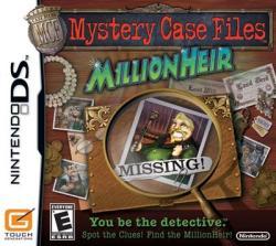 Nintendo Mystery Case Files MillionHeir (Nintendo DS)