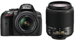Nikon D5300 AF-P 18-55mm VR + 55-200mm VR II