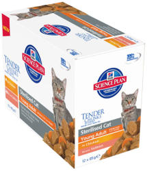 Hill's SP Feline Young Adult Sterilised Chicken 12x85g