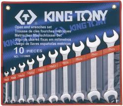 KING TONY Villáskulcs készlet 10db 6-28mm (1110MR)