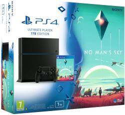 Sony PlayStation 4 Jet Black 1TB (PS4 1TB) + No Man's Sky
