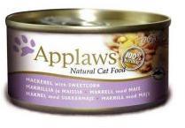 Applaws Mackerel & Corn Tin 70g