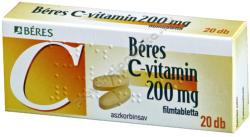 BÉRES C-vitamin 200mg tabletta - 20 db
