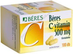 BÉRES C-vitamin 500mg tabletta - 100 db
