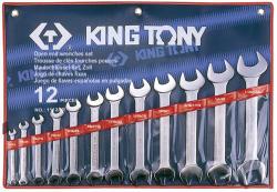 KING TONY Villáskulcs készlet 12db (1112SR)