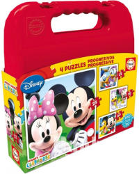 Educa Disney Mickey Mouse Clubhouse 4 az 1-ben puzzle (16505)