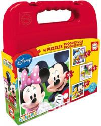 Educa Disney Mickey Mouse Clubhouse 4 az 1-ben puzzle (16505)