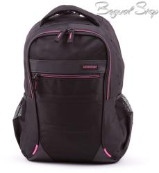 Adventurer fekete-pink hátizsák (BT5528)