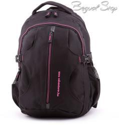 Adventurer fekete-pink hátizsák (BT5521)