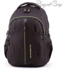Adventurer fekete-zöld hátizsák (BT5521)