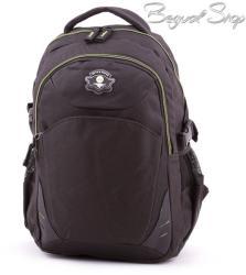 Adventurer fekete-zöld hátizsák (BT5514)