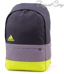 Adidas fekete-szürke-neonzöld hátizsák (S19234)