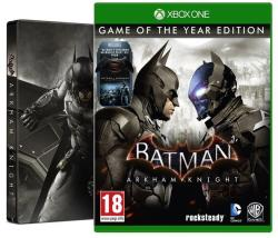 Warner Bros. Interactive Batman Arkham Knight [Game of the Year Steelbook Edition] (Xbox One)