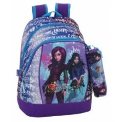 Safta Disney: Descendants - Ghiozdan 42cm cu penar