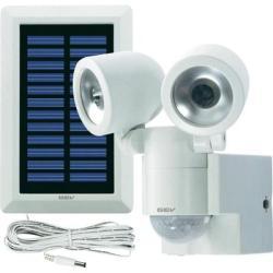 GEV Napelemes LED-es fényszóró mozgásérzékelővel, duó, fehér, GEV 000841