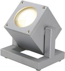 SLV CUBIX I kültéri lámpa, ezüstszürke 132832
