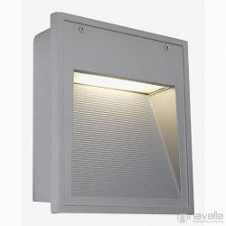 SLV DOWNUNDER OUT TC-D kültéri fali lámpa, ezüstszürke 230424