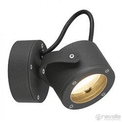 SLV SITRA 360 WL kültéri fali lámpa, antracit 231515