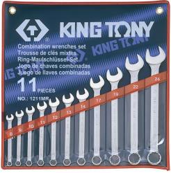 KING TONY Csillag-villáskulcs készlet 11db 8-24mm (1211MR)