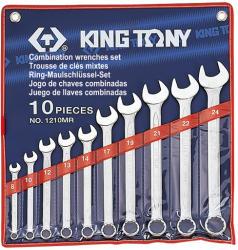 KING TONY Csillag-villáskulcs készlet 10db 8-24mm (1210MR)
