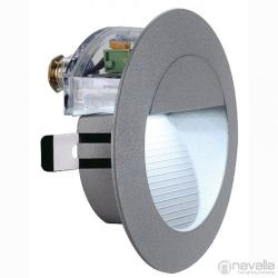 SLV DOWNUNDER 14 kültéri süllyesztett fali lámpa, kőszürke 230202