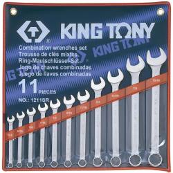 KING TONY Csillag-villáskulcs készlet 11db (1211SR)
