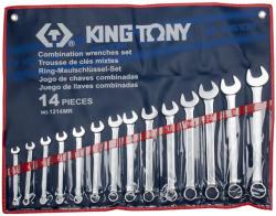 KING TONY Csillag-villáskulcs készlet 14db 10-32mm (1214MR)