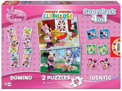 Educa Disney - Minnie egér 4 az 1-ben szupercsomag (15237)