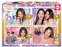 Educa Disney - Violetta 4 az 1-ben szupercsomag (E16190)