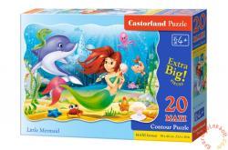 Castorland Maxi Puzzle - Kis hableány 20 db-os (C-02290)