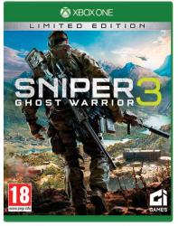 City Interactive Sniper Ghost Warrior 3 [Limited Edition] (Xbox One)