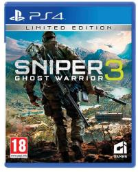 City Interactive Sniper Ghost Warrior 3 [Limited Edition] (PS4)