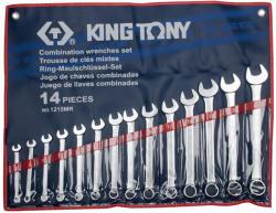 KING TONY Csillag-villáskulcs készlet 14db 8-24mm (1215MR)