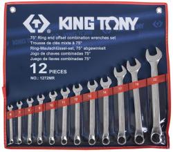 KING TONY Csillag-villáskulcs készlet 12db 6-22mm (1272MR)