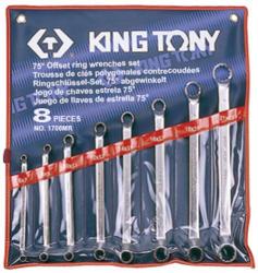 KING TONY Csillagkulcs készlet 8db 6-23mm (1708MR)