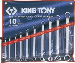 KING TONY Csillagkulcs készlet 10db 6-32mm (1710MR)