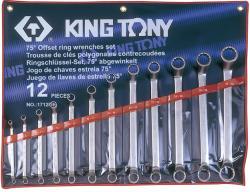 KING TONY Csillagkulcs készlet 12db 6-32mm (1712MR)