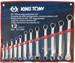 KING TONY Csillagkulcs készlet 12db 6-32mm (1C12MR)