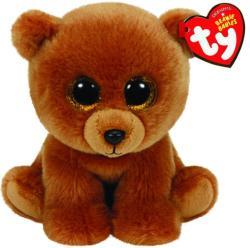 TY Inc Beanie Babies - Brownie, a barna medve 15cm (TY42109)