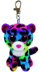TY Inc Beanie Boos Clip - Dotty, a sokszínű leopárd 8,5cm