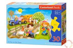 Castorland Egy nap a farmon 30 db-os (B-03563)
