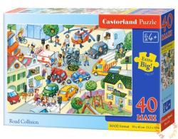 Castorland Maxi Puzzle - Az utcán 40 db-os (B-040100)