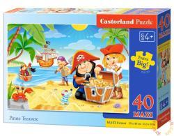 Castorland Maxi Puzzle - Kalózok kincse 40 db-os (B-040148)