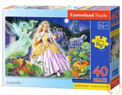Castorland Maxi Puzzle - Hamupipőke 40 db-os (B-040155)
