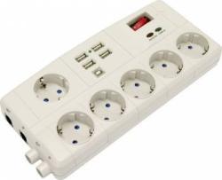 Bricolux 6 Plug + USB/TV/FAX (523235-PK)