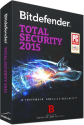 Bitdefender Total Security 2015 (1 PC, 1 Year) Renewal TD11051001-RO