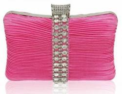Fashion Only Alkalmi clutch táska Chance - pink