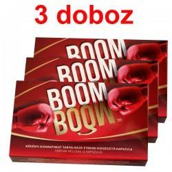 Boom Boom potencianövelő * 3 doboz (6 kapszula)